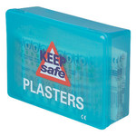 254801 Box of 100 Wash Resistant Plasters