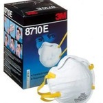 292452 3M 8710E FFP1 Cup-Shaped Dust/Mist Respirator