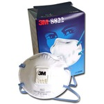 292410 3M 8822 FFP2 Cup-Shaped Valved Dust/Mist Respirator