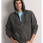 GD058 HeavyBlend™ adult full zip hooded sweatshirt
