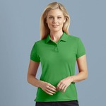 GD045 Women's DryBlend® double piqué sport shirt