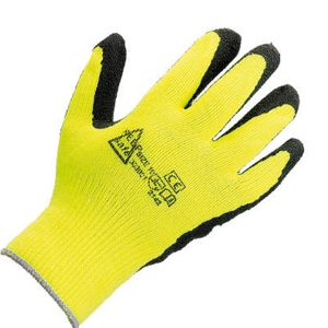 303001 Keep Safe High Visibility Grip Latex Coated Glove Thumbnail
