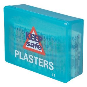 254800 Keep Safe Fabric First Aid Plasters Thumbnail