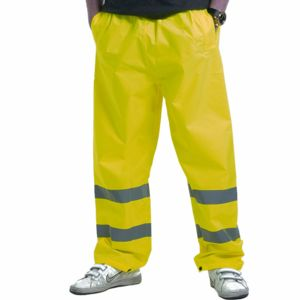 SA004 HI-VIS TRAFFIC WATERPROOF TROUSERS Thumbnail
