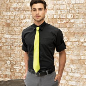 "PR206 MENS ""Roll Sleeve"" poplin shirt Thumbnail"