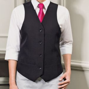 PR623 Ladies Polyester Lined Waistcoat Thumbnail