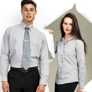 pr234 Signature Oxford long sleeve shirt Thumbnail