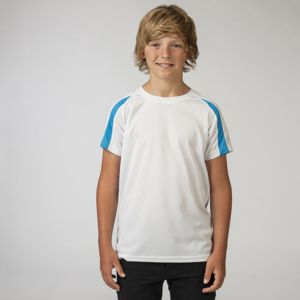 JC03J Kids contrast cool Tee Shirts Thumbnail