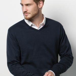 KK352 Arundel v-neck sweater long sleeve Thumbnail