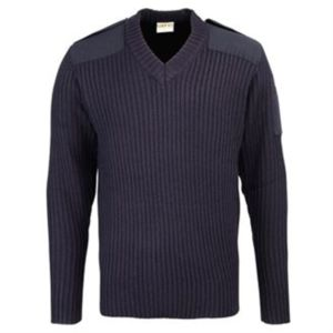 CL55 Security style v-neck sweater Thumbnail