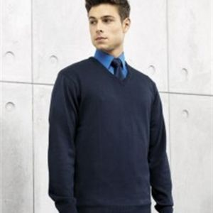 PR694 V-neck knitted sweater Thumbnail