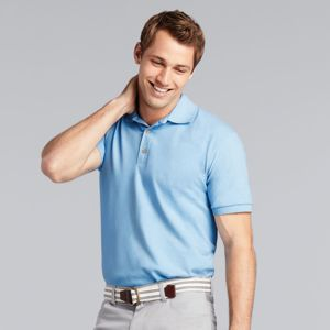 GD038 Ultra Cotton™ combed ringspun adult piqué Polo Shirts Thumbnail