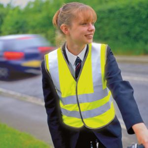 Junior safeguard high-viz vest EN1150 Class 2 approved Thumbnail